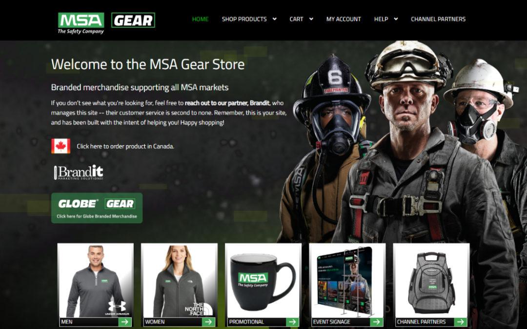 MSA Gear E-Commerce Website